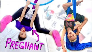 Download Lagu PREGNANT LADY DOES ACROBATS WITH CHILD! Gratis STAFABAND