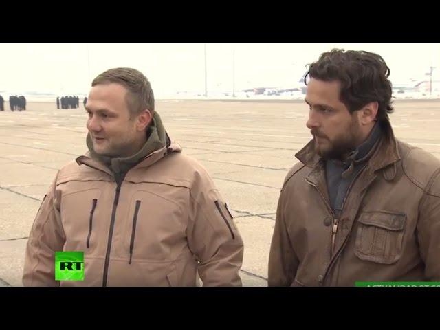 Periodistas de RT heridos en Siria cuentan su mala experiencia al llegar a Moscú