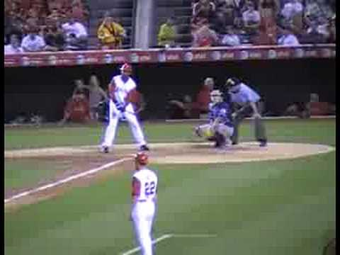 Anaheim Angels Baseball Chone Figgins Steals 2nd Video