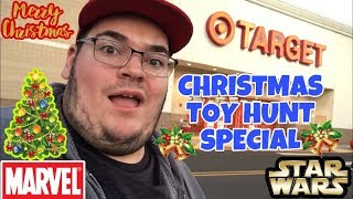 EPIC CHRISTMAS TOY HUNT SPECIAL!!! STAR WARS,NECA FIGURES & MORE!