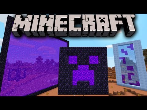 Minecraft 1.7 1.6.3 Snapshot: Giant Portals Mesa Biome Changes New Far Lands Chat PMs Commands