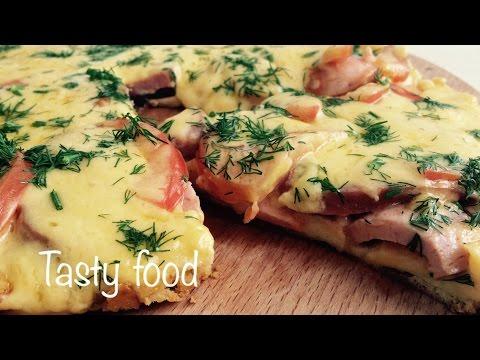 Пицца за 10 Минут на Сковородке Очень Простой Рецепт