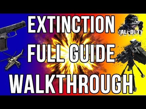 Call of Duty Ghosts Extinction Full Guide Walkthrough (Weapon Locations. Traps. Hives And More)