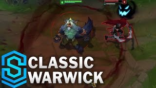 Classic Warwick (2017 Rework), the Uncaged Wrath of Zaun - Ability Preview - League of Legends