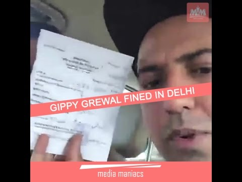 media gippy grewal accident news