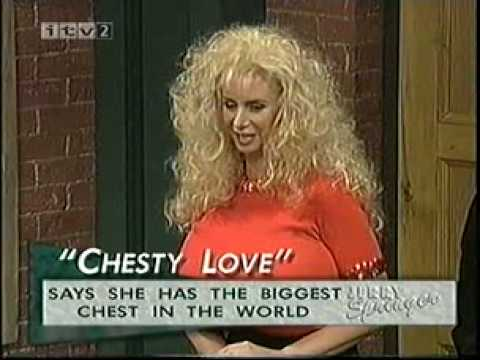 Chesty Love on the Jerry Springer show