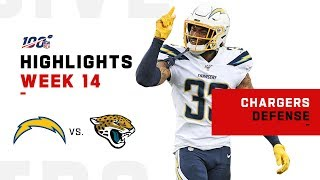 Chargers Defense Holds Jaguars to 10 Points | NFL 2019 Highlights