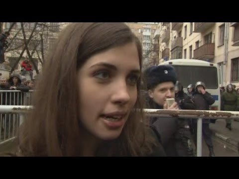 Pussy Riot interview: Nadezhda Tolokonnikova comments on Ukraine protests