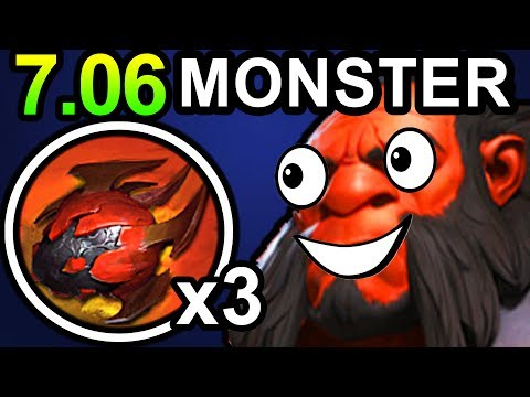 MONSTER AXE DOTA 2 PATCH 7.06 PRO GAMEPLAY