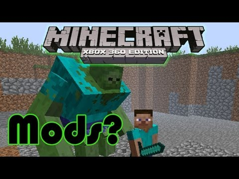 Mods for minecraft xbox 360 edition? Info / news video HD