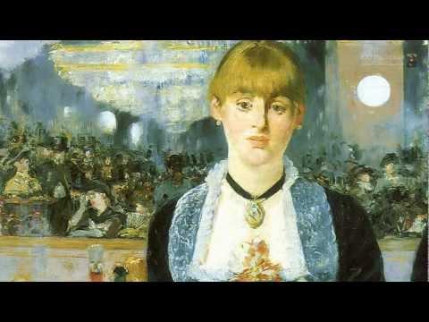 Un bar aux Folies Bergère par le peintre français Édouard Manet