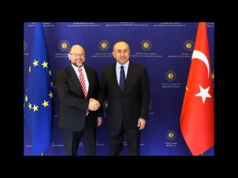 Freedom of expression hot topic for European Parliament president visiting Turkey