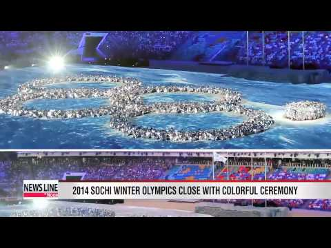 Russia in first, Korea 13th as 2014 Sochi Olympics end