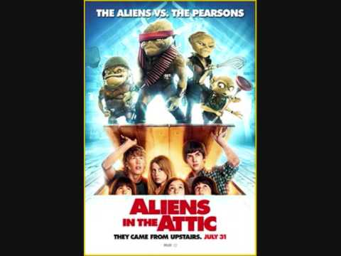 Ashley Tisdale Aliens in the Attic Poster