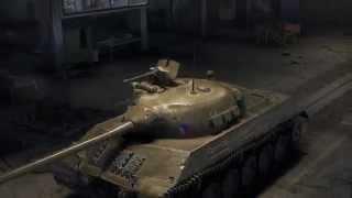 Scoda T 50, Чехословакия средний танк, игра World of Tanks