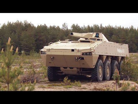 Patria - Nemo 120mm Mortar 8X8 Armoured Vehicle [1080p]