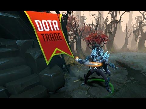 Ravening Wings Phantom Assassin set with arcana preview Dota 2