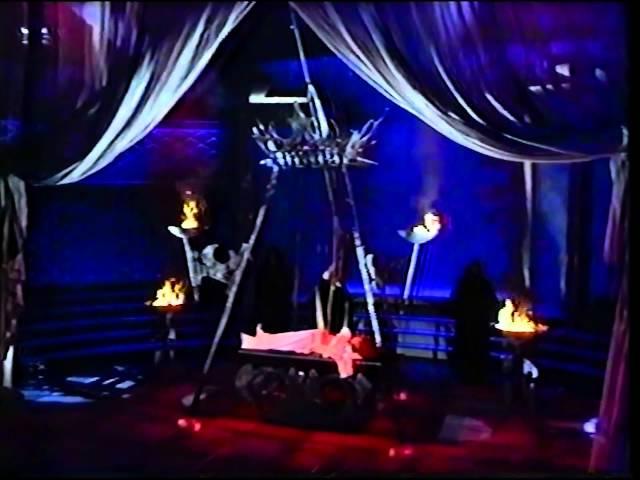 Paul Daniels Pendulum Sawing of Debbie McGee