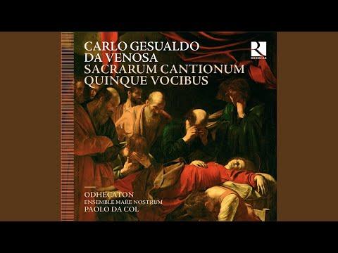 Sacrarum cantionum quinque vocibus, Liber primus: Sancti Spiritus, Domine, corda nostra, W viii, 26