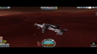Unpowered Landing on Duna (Vendetta-Class Quadruplane) [1.0.5]