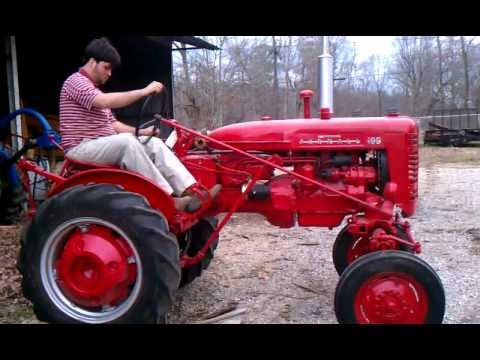 1956 IH Farmall 100 Tractor Demonstration