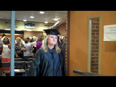 PHCC / Patrick Henry Community College Graduation 2010 - Marching Out.MP4