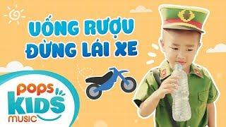 Uống Rượu Đừng Lái Xe - Bé Nguyễn Hậu | Nhạc Thiếu Nhi Remix Sôi Động Cho Bé Nhảy Múa