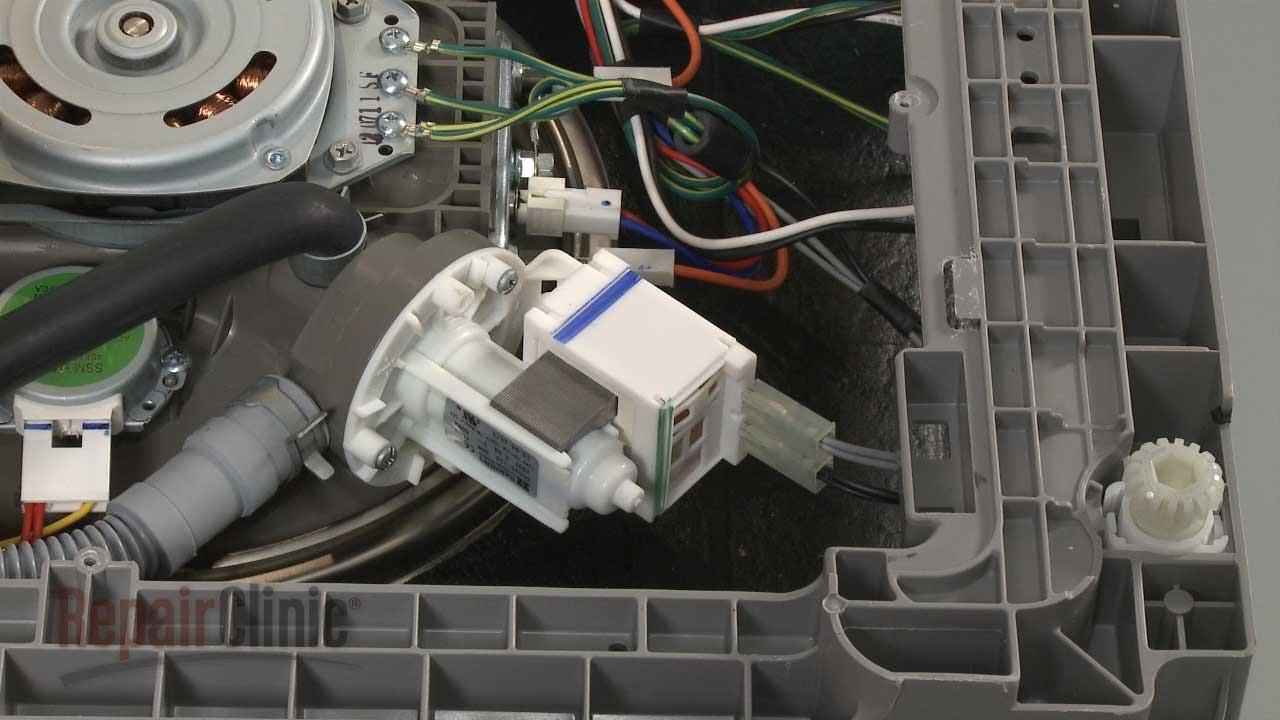 Dishwasher Won T Drain Dishwasher Drain Pump Replacement