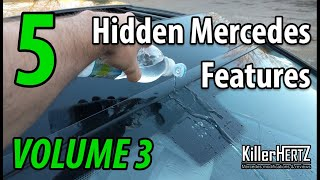 5 Hidden Mercedes functions, tricks & features - Vol 3