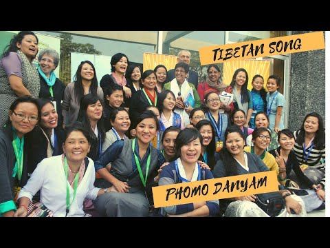 Young Tibetan Women spread the message of 'Gender Equality' --Phomo-Danyam