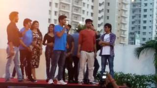 Darshan Raval and Tu To Gayo movie's stars Live in Mirchi Rainbow Run