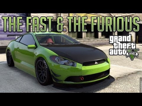 The Fast and the Furious Eclipse (Maibatsu Penumbra) : GTA V Custom Car Build