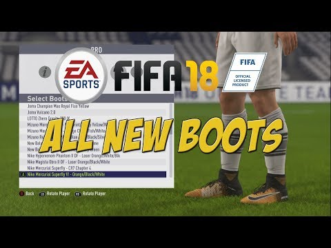 FIFA 18 - All New Boots!