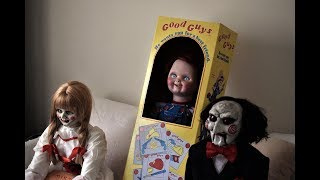 GOOD GUY DOLL CHUCKY WITH ANNABELLE AND BILLY PUPPET