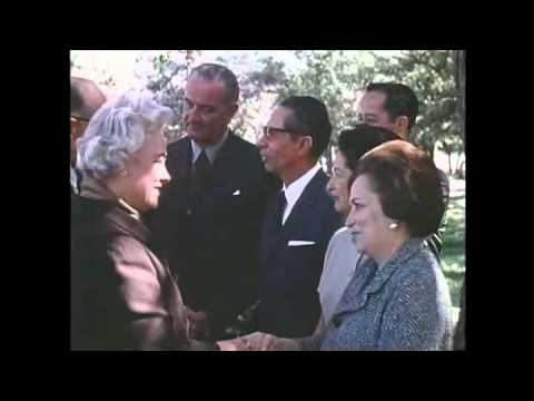 Visit to the U.S. of President-Elect Diaz Ordaz of Mexico, Nov. 1964. MP781.