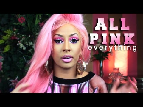 BARB LIFE Makeup Tutorial (All Pink Everything!)