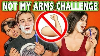 NOT MY ARMS CHALLENGE! (ft. Teens React Cast) | Challenge Chalice