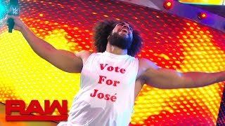 No Way Jose wants your vote: Raw Exclusive, July 15, 2019