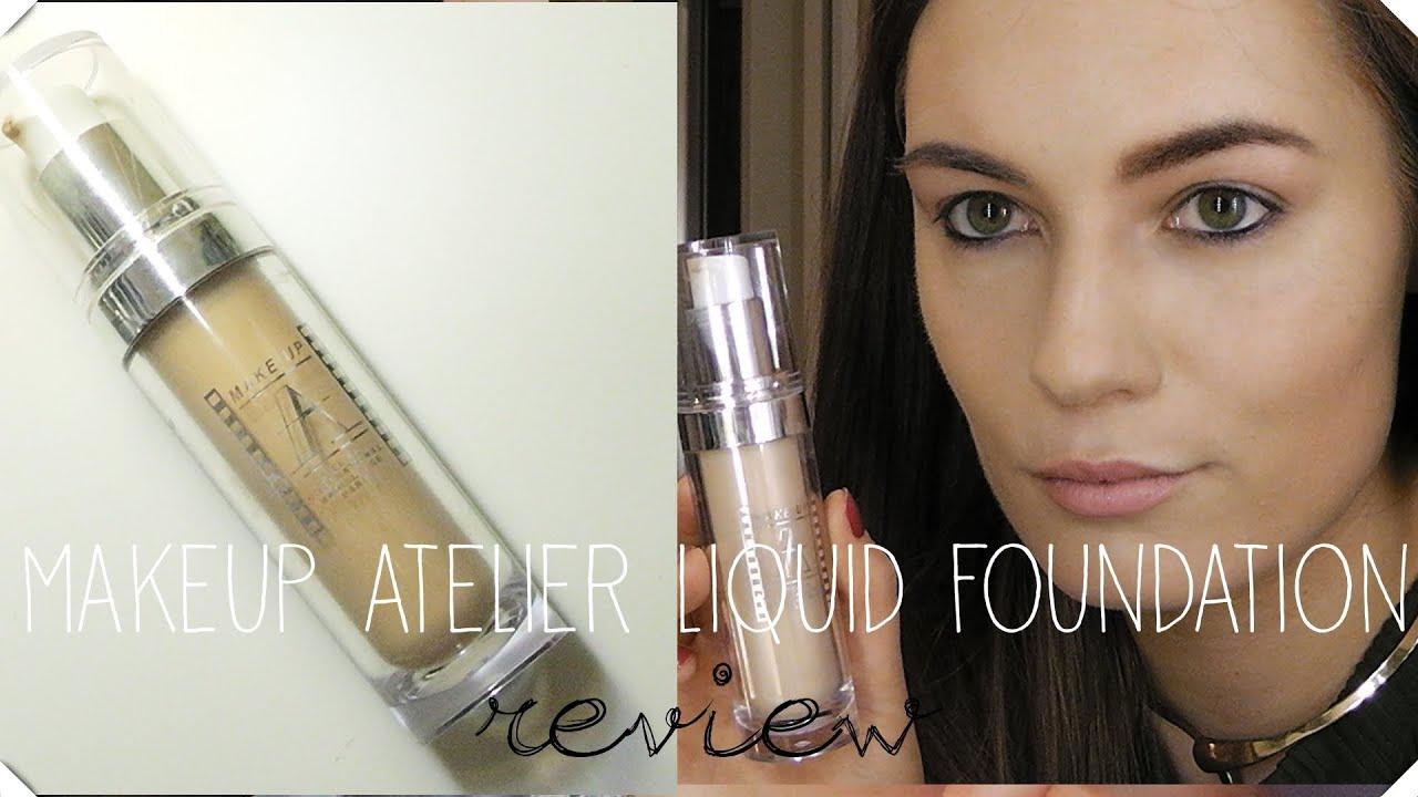 Makeup Atelier Liquid Foundation Demo