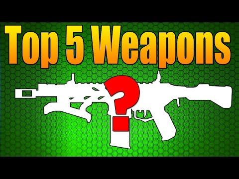 Top 5 Weapons in Black Ops 3 (Best Guns Updated) #1