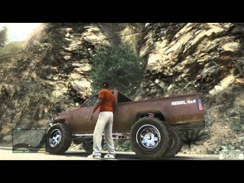 GTA 5 - Vehicles Can Run Out Of Gas (w/ commentary)