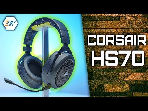 BESTES Gaming Headset 2018 ? | Corsair HS70 + Gewinnspiel!