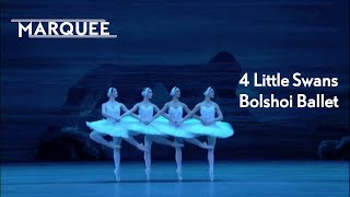 Swan Lake 4 Little Swans Bolshoi Ballet
