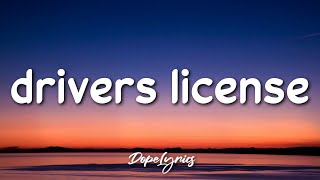 drivers license - Olivia Rodrigo  🎵