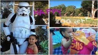 HAPPY ZOO YEAR PART1-ANIMALS,TROLLS GIFT BAG,STAR WARS FAMILY FUN AT THE ZOO