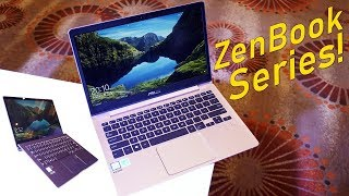 Asus ZenBook 13 VS ZenBook S Hands-On Overview & Comparision!