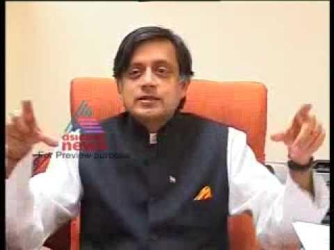Shashi Tharoor's Explenation (in Malayalam) video