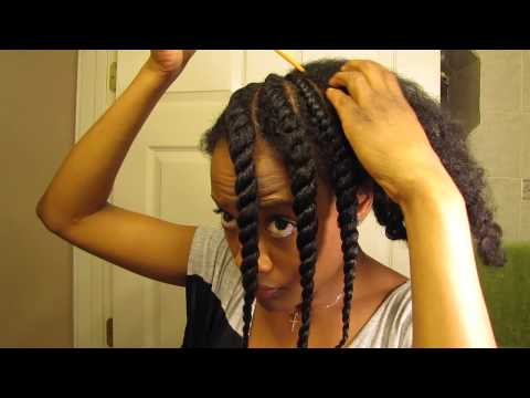 TGIN Product Review + (Curly Fro/Fluffy Flat Twistout) Styling Video