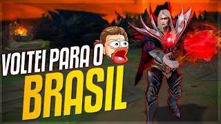 VOLTEI PARA O BRASIL E VOU PEGAR TOP 1 EM 60 DIAS!