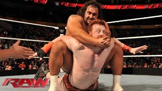 Sheamus vs. Rusev - United States Championship Match: WWE Network Exclusive, Nov. 3, 2014